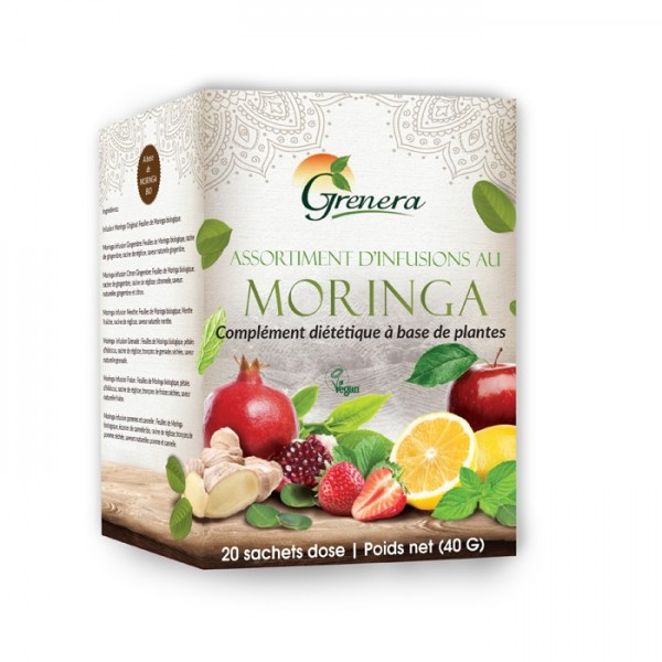 Assortiments D'Infusions au Moringa
